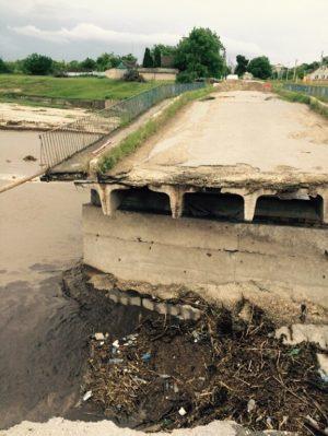 Мост на Лесгор и другие последствия стихии
