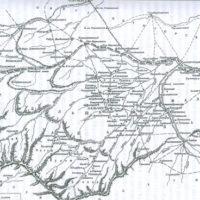 Карта Трускотта 1783 года
