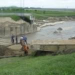 Ремонт моста на Шордаково