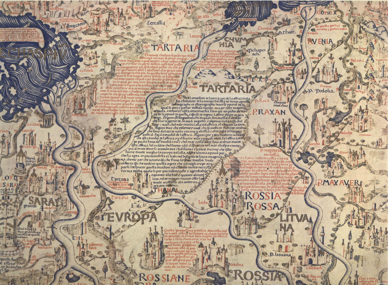 Фра Мауро. Карта мира. 1459